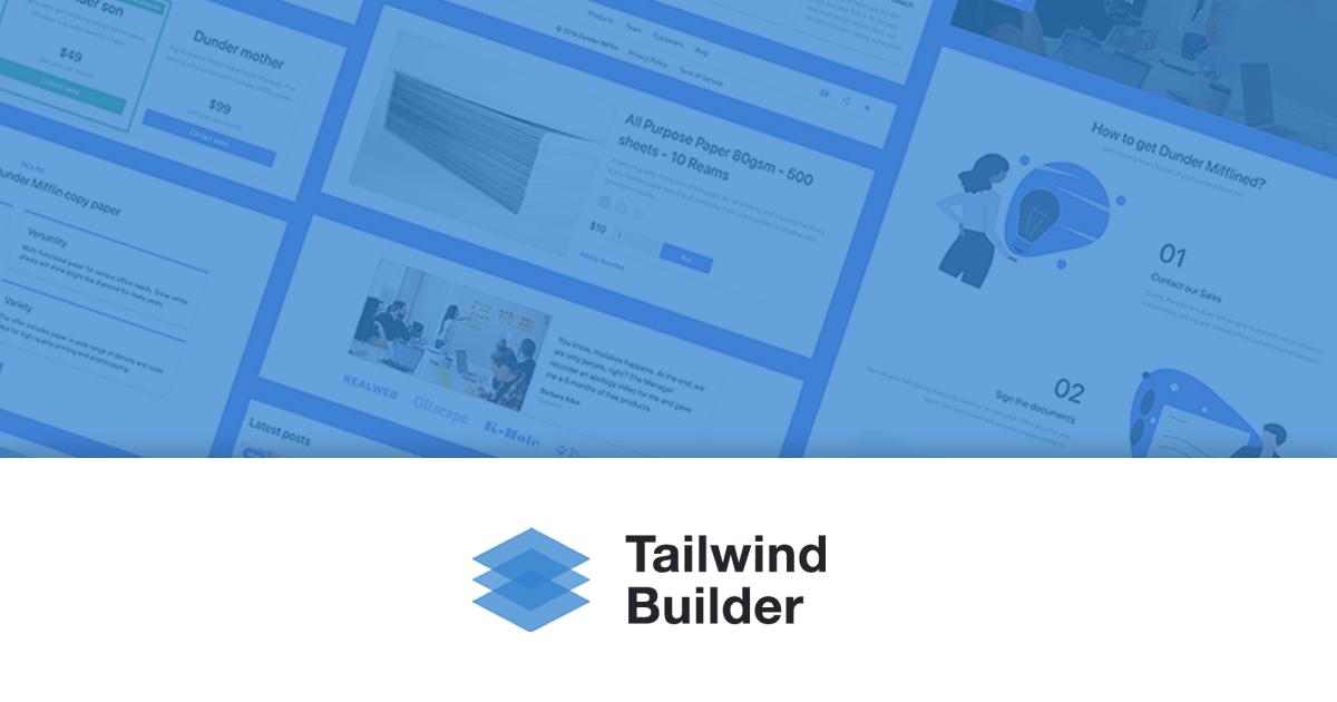 Tailwind Builder